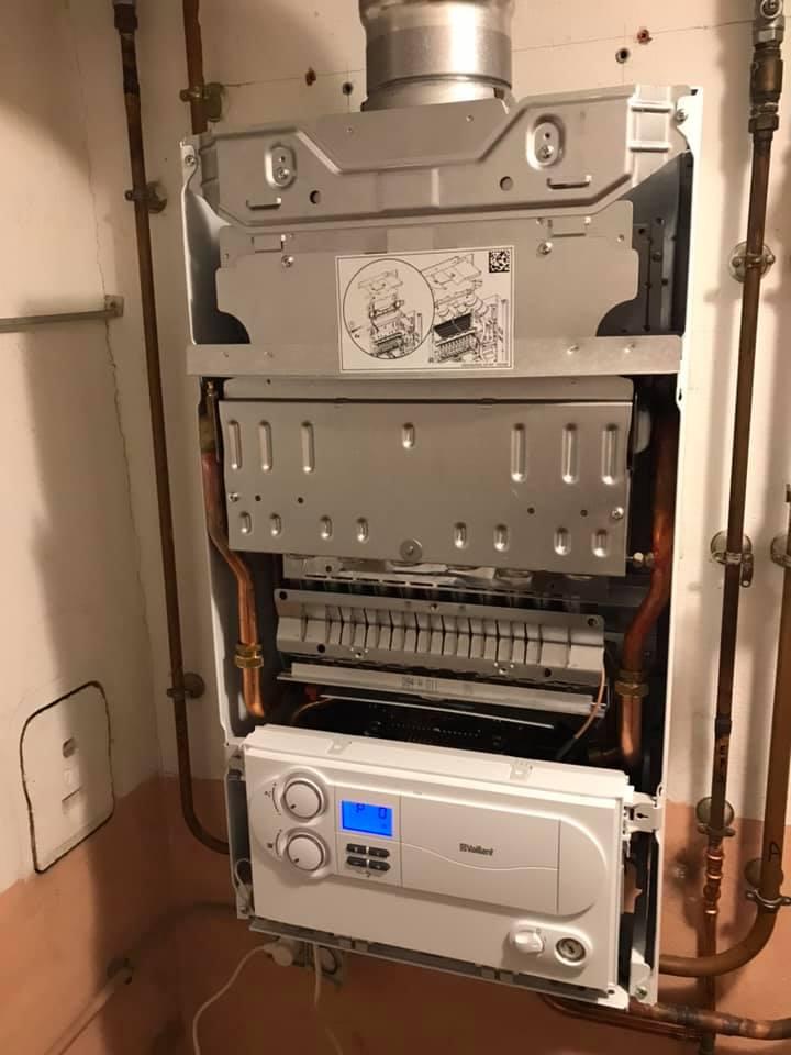 Installation dans l'urgence d'une chaudière Bas - Nox