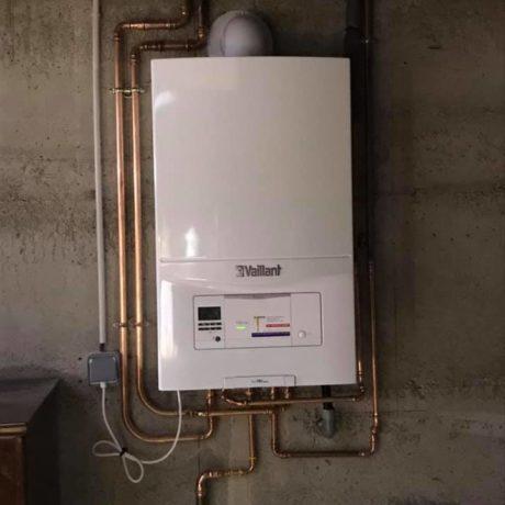 Installation d'une chaudière à condensation par Kieffer Energies à Wittelsheim 68