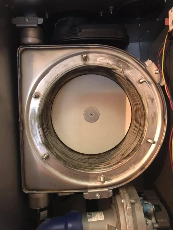Entretien chaudière avec remplacement corps de chauffe 68 Pulversheim Kieffer Energie