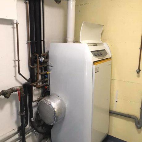 Remplacement d'une chaudière à gaz sol par