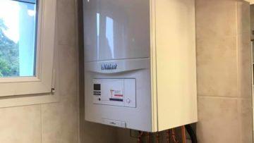 Installation d'une chaudière à condensation