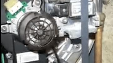 Remplacement d'une turbine à gaz
