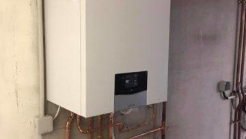 Installation d'une chaudière à condensation sur Lutterbach