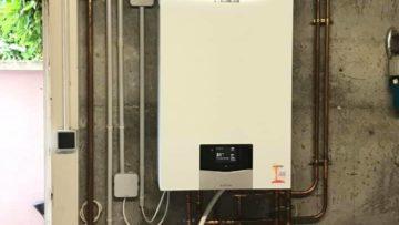 Installation d'une chaudière à condensation Vaillant sur Bartenheim